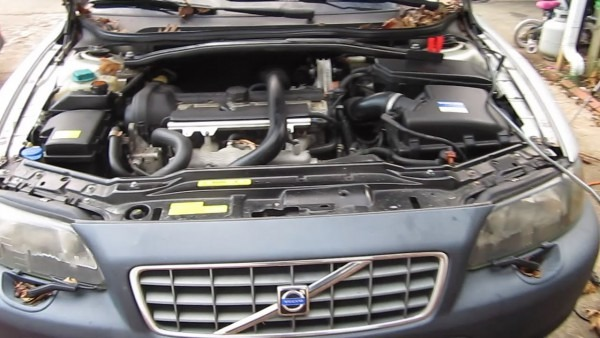 Where Is The Battery  Volvo Cross Country Xc70