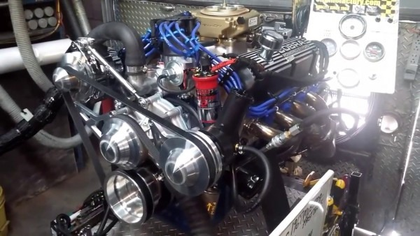Ford 302 Roller Cam Engine For A 1967 Mustang Fastback With Holley
