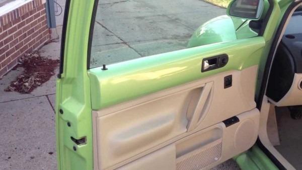 New Beetle Door Lock Repair