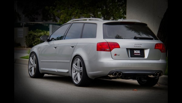 2006 Audi B7 S4 Avant Lowered With H&r Springs & Stasis Exhaust