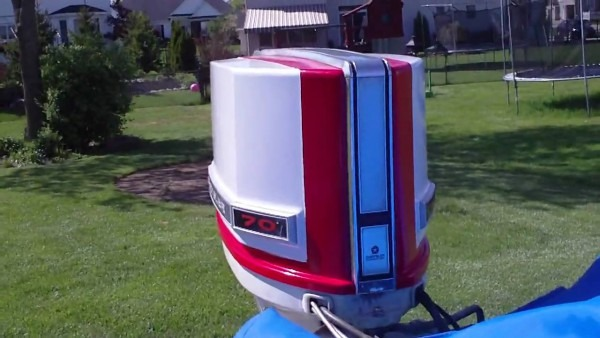 70hp Chrysler Outboard Cold Start