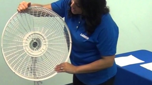 How To Assemble A Lasko® Pedestal Stand Fan In Minutes With No