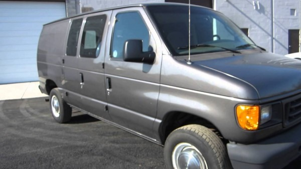 2004 Ford Econoline E250 Cargo Van    Side   Rear Glass    Sold