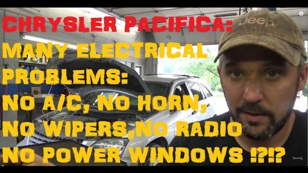 Chrysler Pacifica  Tipm Electrical Problems