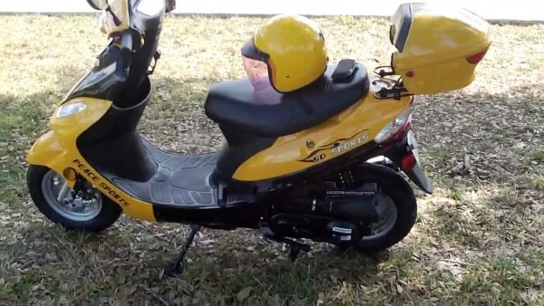 Chinese Scootersthe Peace Sports 50cc Review