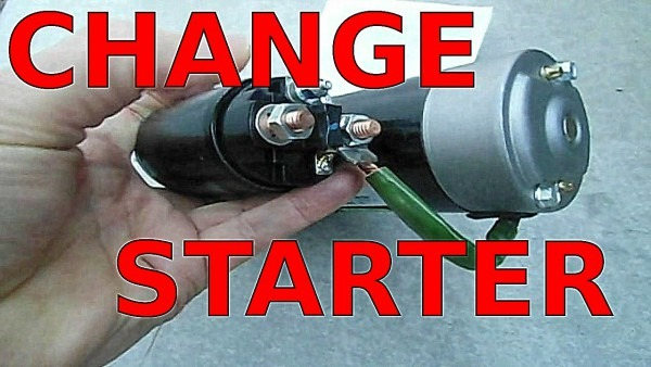 How To Replace Starter Fast Fix No Start Starting Problems Gm 3 1