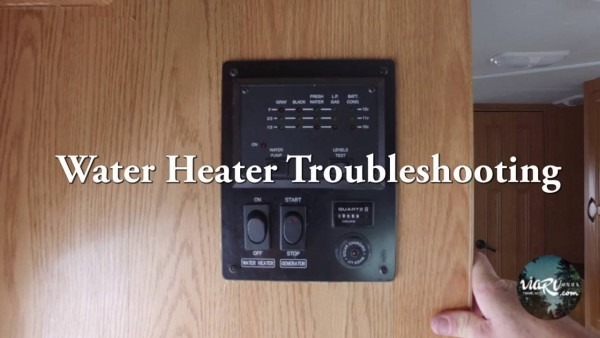 Rv Water Heater Troubleshooting Common Problems