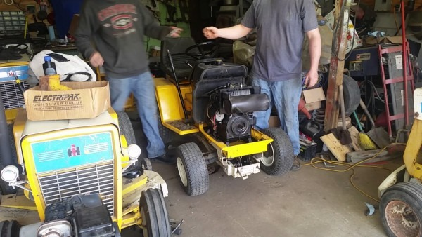 Cub Cadet 1210 Got It To Run