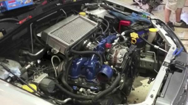 Built 2005 Subaru Outback Xt Sti Turbo 0
