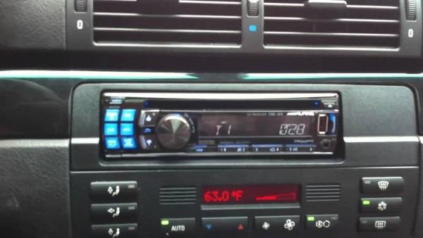 2004 Bmw M3 Alpine Radio Pandora Cde