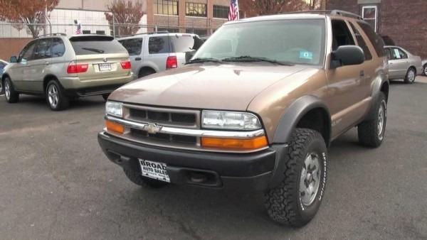 2002 Chevrolet Blazer Ls Zx
