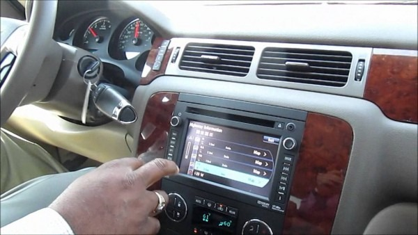 2013 Chevrolet Navigation System