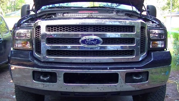 Howto  Ford F250 Super Duty Harley Davidson Headlight Install