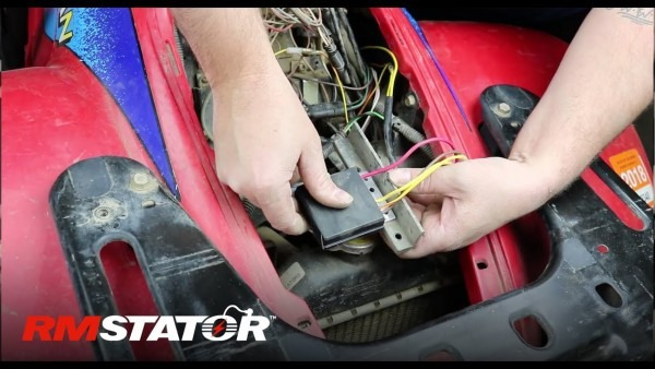 How To Install A Polaris Regulator Rectifier   2203636 4060173 For