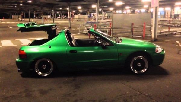 Honda Del Sol Airride Demo 1