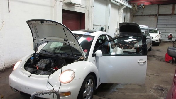 Parting Out A 2001 Volkswagen Beetle Parts Car