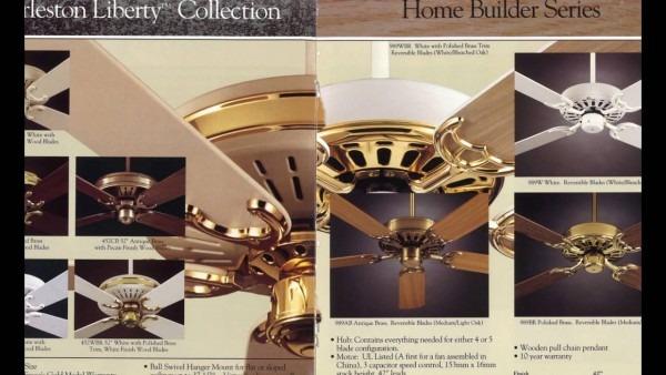 Fasco (f A Smith Company) Ceiling Fan Catalog From 1993