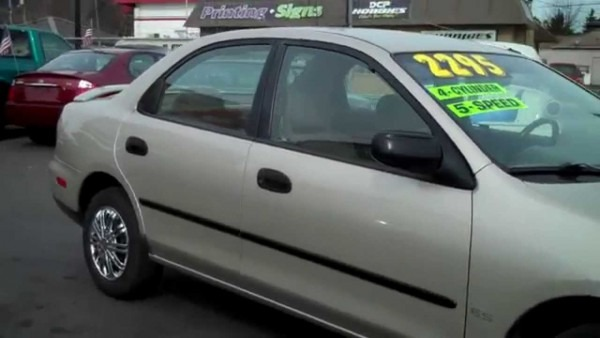 1998 Mazda Protege Sold!!
