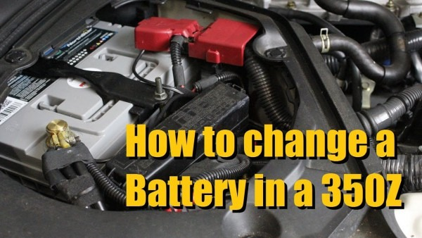 How To Change The Battery In A Nissan 350z  G35
