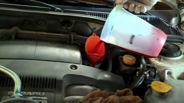 2001 Subaru Outback Transmission Service Part 2
