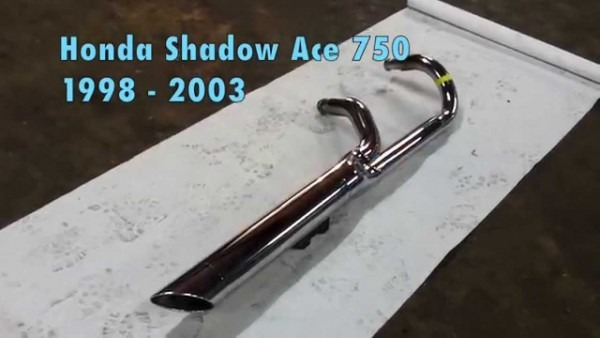 Honda Shadow Ace 750 Exhaust