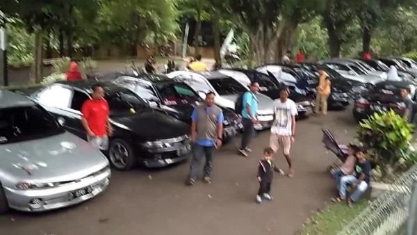 Galant Club Indonesia Touring Cirata