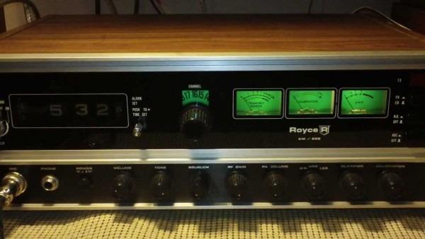 Royce 640 Am Ssb Cb Base Radio 1