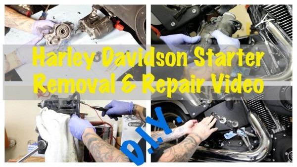 Harley Davidson Starter Replacement Install & Starter Clutch Fix