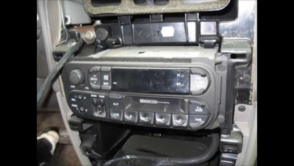Installation Of An Aftermarket Stereo In A 2001 Dodge Grand