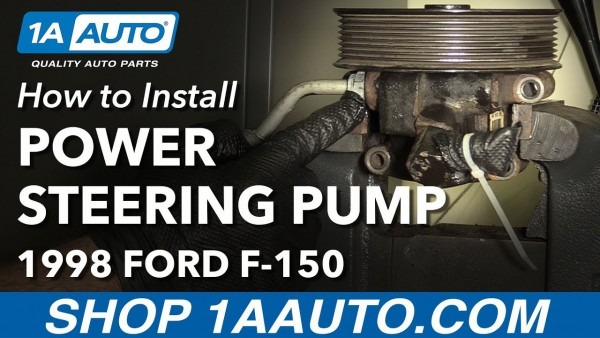 How To Replace Power Steering Pump 97