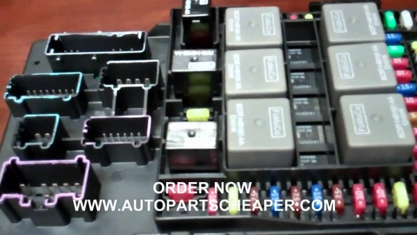 2003 Ford Expedition Or Navigator Fuse Central Junction Box