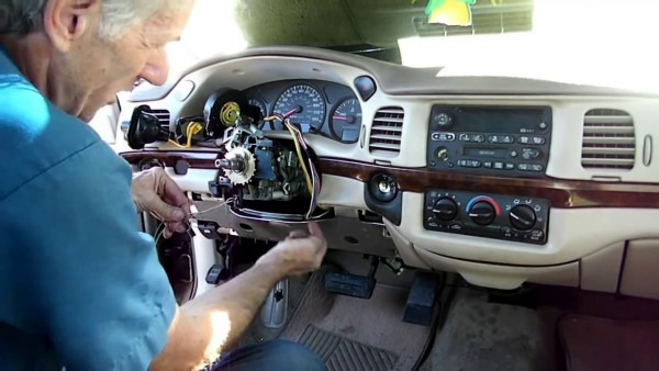 Impala Multifunction Switch Removal