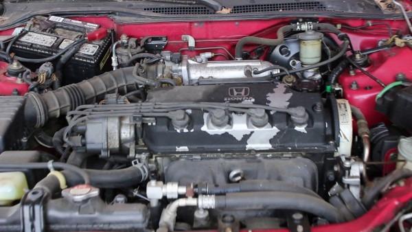 1993 Honda Civic Del Sol Si 1 6l Engine Run Video (stock  R012214