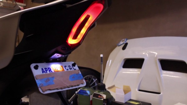 How To  2017 R6 Integrated Tail Light Install