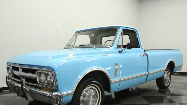 727 Tpa 1967 Gmc Half Ton Pickup