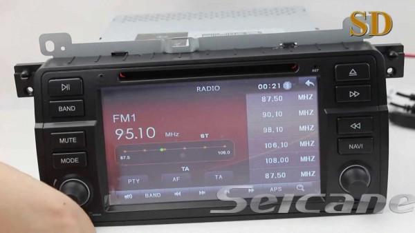 Bmw 320i 323i 323ci 325i 328i 328ci Dvd Player Gps Radio With