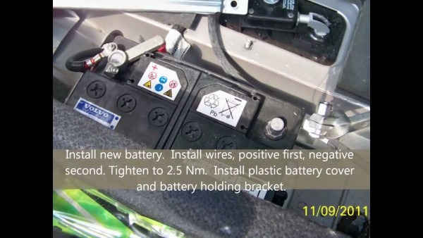Volvo Xc90 2004 Battery Replacement