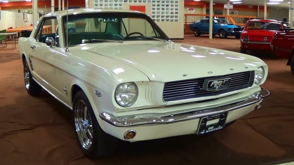 Awesome Sounding 1966 Ford Mustang 289 V8 Solid Lifter Cam 4