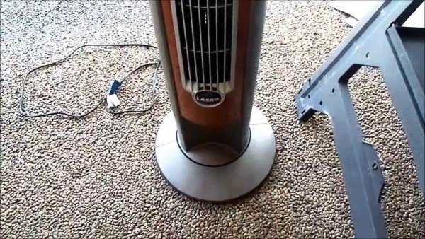 Tower Fan Squeaks When Oscillating