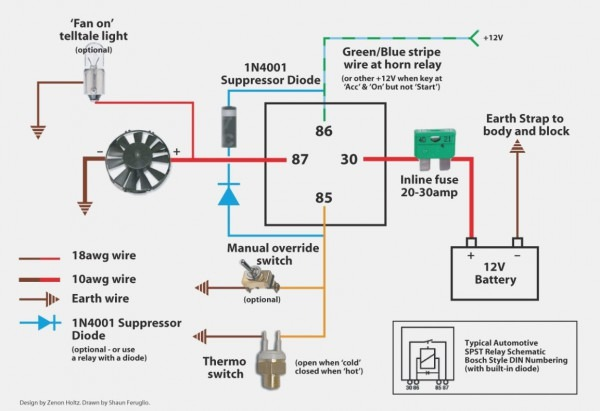 How To Wire A Fan Relay