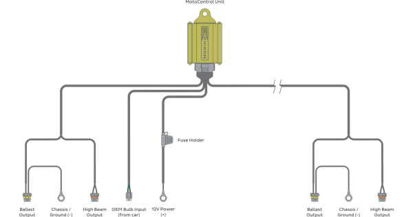 H4 Bulb Wiring