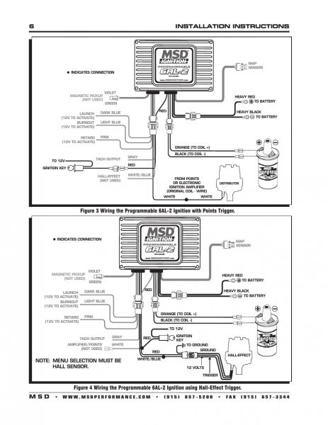 Msd 6al 2 Wiring Diagram 6530