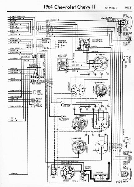 1962 Chevrolet Impala Wiring Diagram