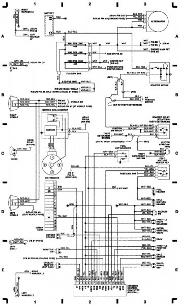 1992 Toyota Pickup Wiring Diagram