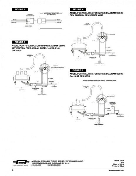 Mallory Electronic Ignition Wiring Diagram