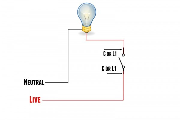 The World Through Electricity  One Way Switch
