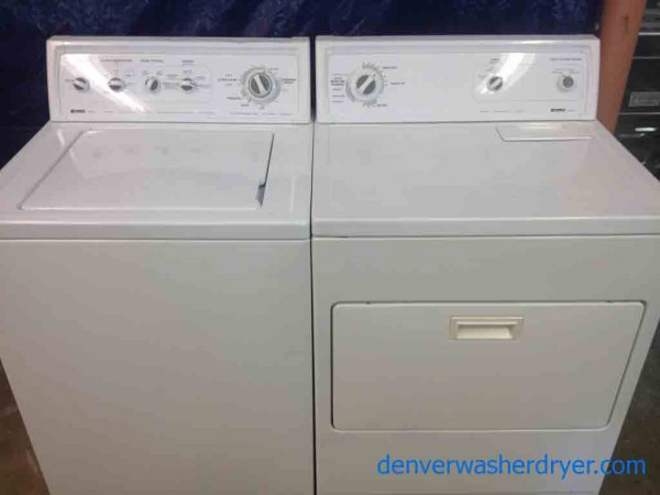 Large Images For Kenmore 90 Series Washer 80 Series Dryer, Super