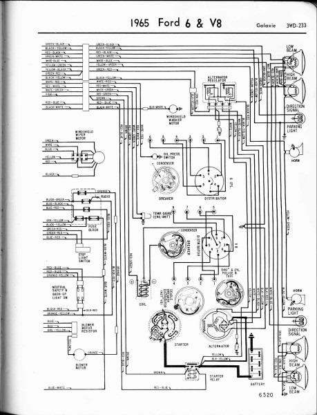 1964 Fairlane Wiring Diagram