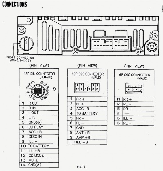 Pioneer Deh P4200ub Manual