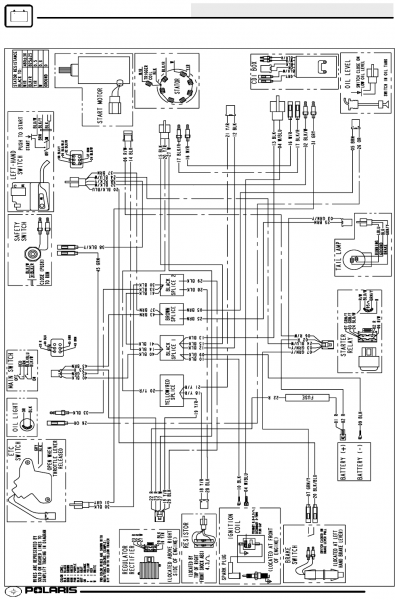 Polaris Outlaw 50 Wiring Diagram